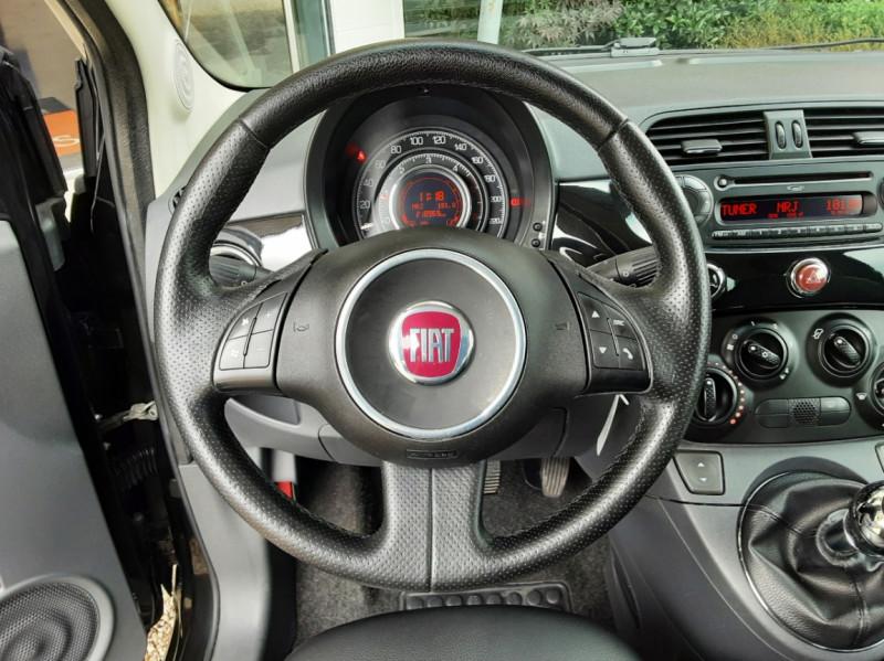 Photo 29 de l'offre de FIAT 500 1.3 Multijet 75 ch DPF Pop à 4900€ chez Centrale Auto Marché Mussidan