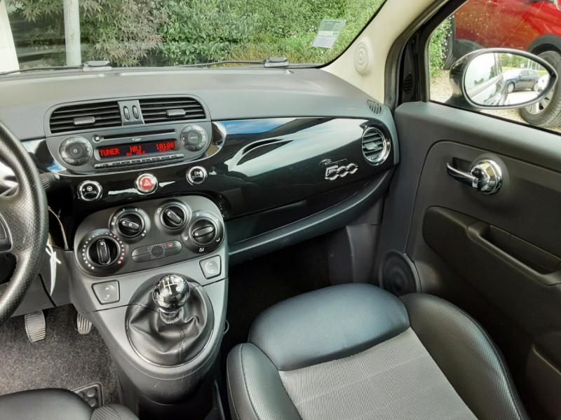Photo 34 de l'offre de FIAT 500 1.3 Multijet 75 ch DPF Pop à 4900€ chez Centrale Auto Marché Mussidan