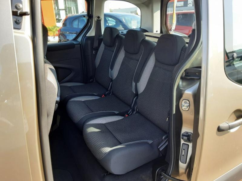 Photo 16 de l'offre de PEUGEOT PARTNER Tepee 1.6 BlueHDi 100ch SetS BVM5 Outdoor à 14990€ chez Centrale Auto Marché Mussidan