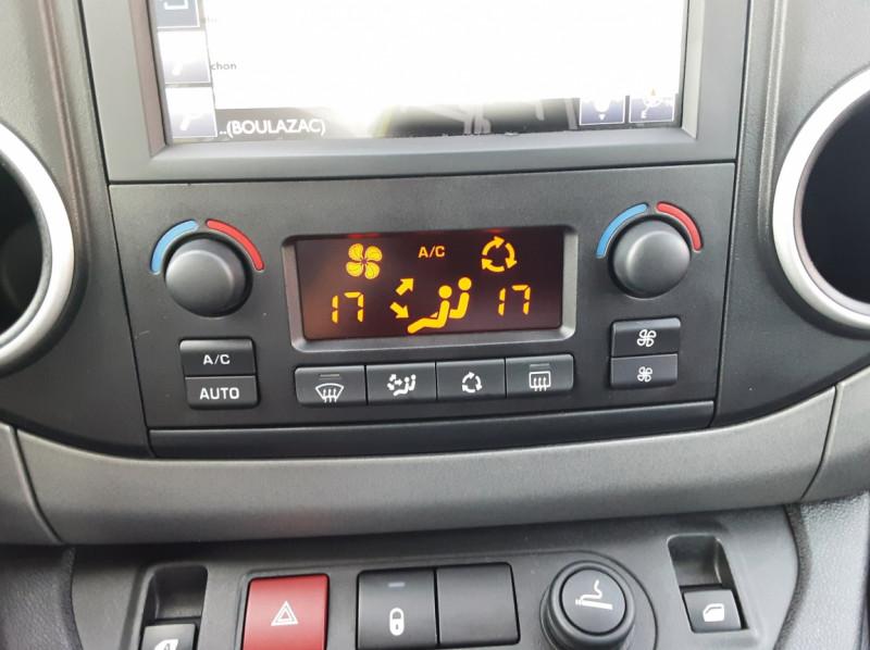 Photo 20 de l'offre de PEUGEOT PARTNER Tepee 1.6 BlueHDi 100ch SetS BVM5 Outdoor à 14990€ chez Centrale Auto Marché Mussidan