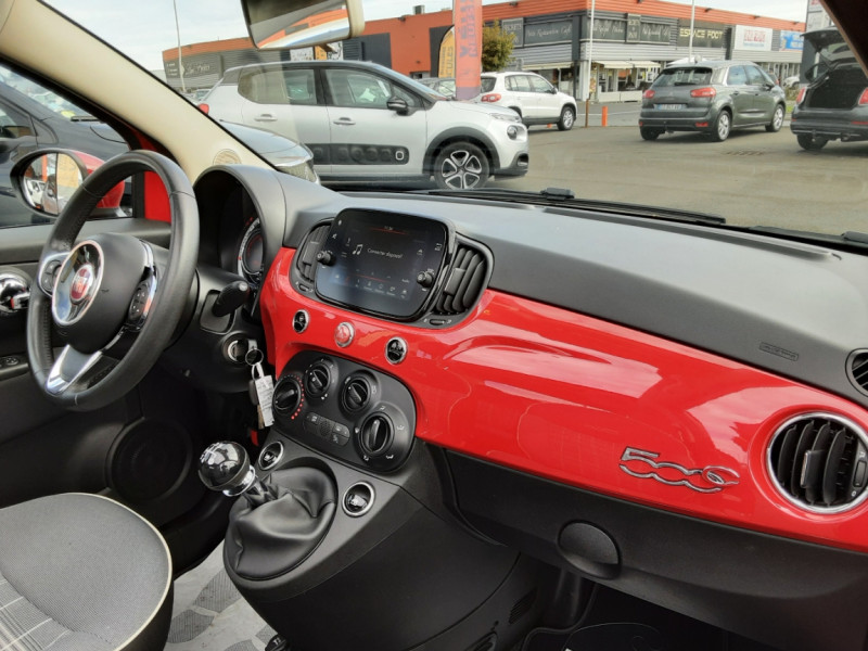 Photo 42 de l'offre de FIAT 500 C 1.2 69 ch Lounge  à 12990€ chez Centrale Auto Marché Mussidan