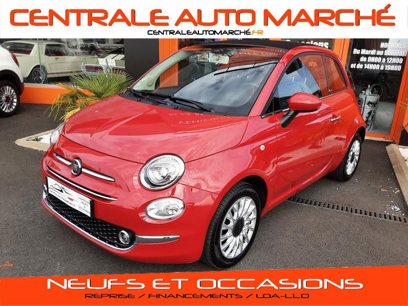 Fiat 500 C 1.2 69 ch Lounge  Essence  Occasion à vendre