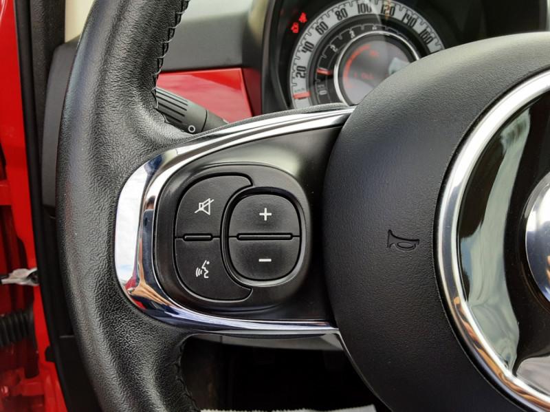 Photo 40 de l'offre de FIAT 500 C 1.2 69 ch Lounge  à 12990€ chez Centrale Auto Marché Mussidan