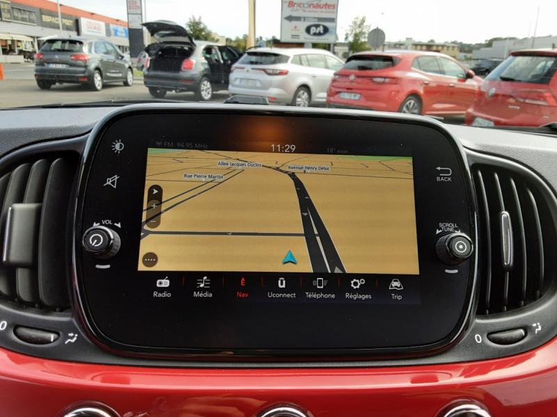 Photo 30 de l'offre de FIAT 500 C 1.2 69 ch Lounge  à 12990€ chez Centrale Auto Marché Mussidan
