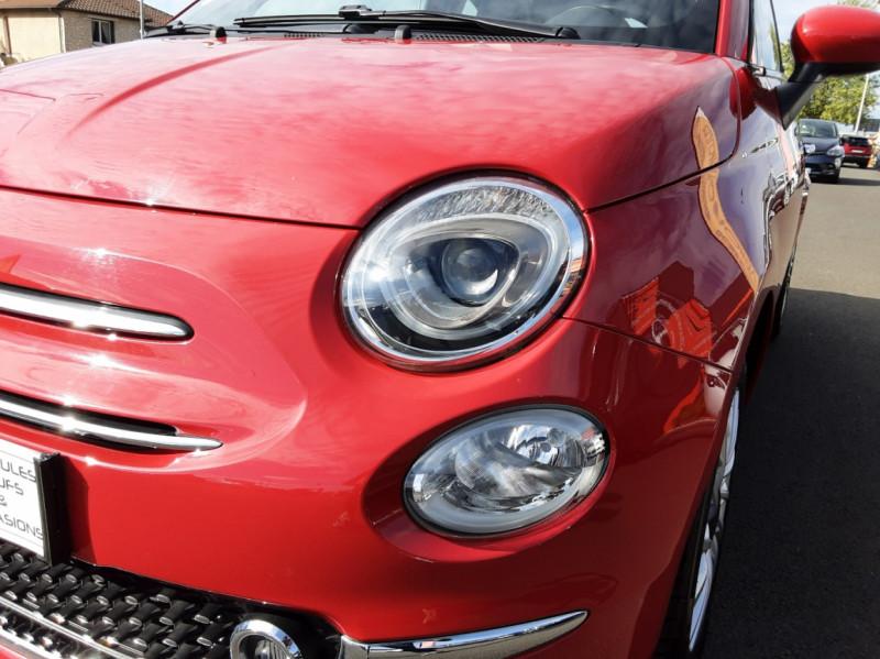 Photo 4 de l'offre de FIAT 500 C 1.2 69 ch Lounge  à 12990€ chez Centrale Auto Marché Mussidan