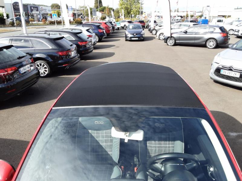 Photo 8 de l'offre de FIAT 500 C 1.2 69 ch Lounge  à 12990€ chez Centrale Auto Marché Mussidan