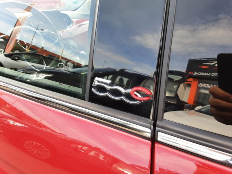 Photo 27 de l'offre de FIAT 500 C 1.2 69 ch Lounge  à 12990€ chez Centrale Auto Marché Mussidan