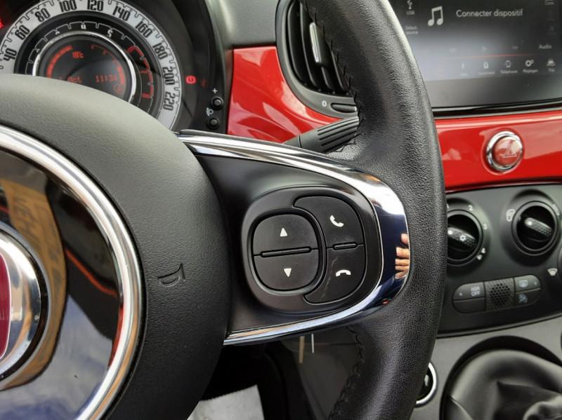 Photo 38 de l'offre de FIAT 500 C 1.2 69 ch Lounge  à 12990€ chez Centrale Auto Marché Mussidan