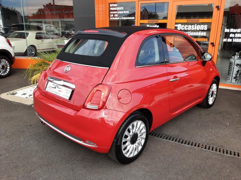 Photo 2 de l'offre de FIAT 500 C 1.2 69 ch Lounge  à 12990€ chez Centrale Auto Marché Mussidan