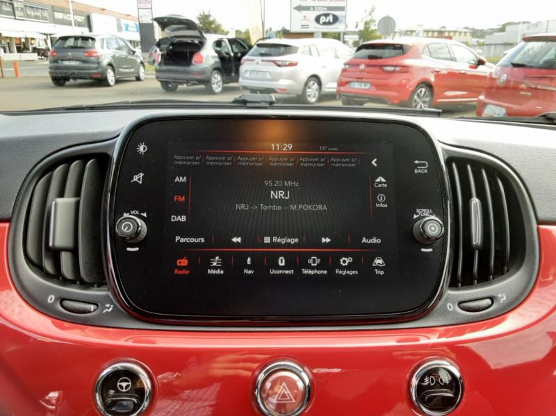 Photo 29 de l'offre de FIAT 500 C 1.2 69 ch Lounge  à 12990€ chez Centrale Auto Marché Mussidan
