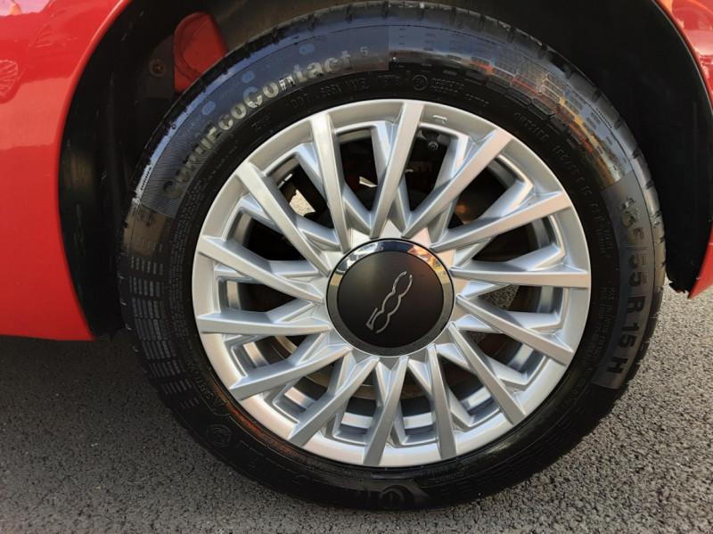Photo 13 de l'offre de FIAT 500 C 1.2 69 ch Lounge  à 12990€ chez Centrale Auto Marché Mussidan