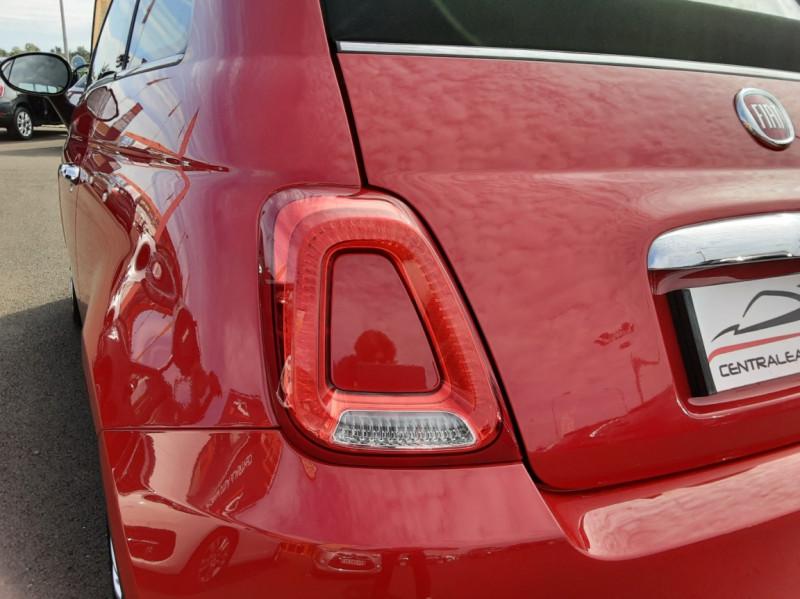 Photo 20 de l'offre de FIAT 500 C 1.2 69 ch Lounge  à 12990€ chez Centrale Auto Marché Mussidan