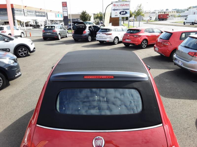 Photo 28 de l'offre de FIAT 500 C 1.2 69 ch Lounge  à 12990€ chez Centrale Auto Marché Mussidan