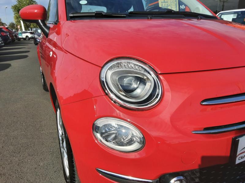 Photo 11 de l'offre de FIAT 500 C 1.2 69 ch Lounge  à 12990€ chez Centrale Auto Marché Mussidan
