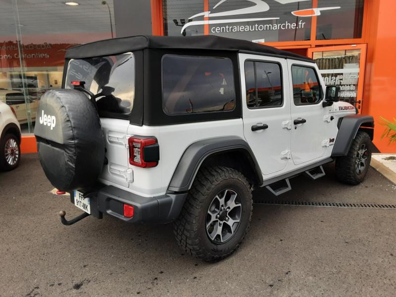 Photo 3 de l'offre de JEEP WRANGLER Unlimited 2.2 l MultiJet 200 ch 4x4 BVA8 Rubicon à 54990€ chez Centrale Auto Marché Mussidan