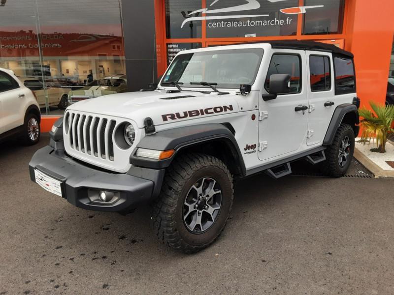 Photo 2 de l'offre de JEEP WRANGLER Unlimited 2.2 l MultiJet 200 ch 4x4 BVA8 Rubicon à 54990€ chez Centrale Auto Marché Mussidan