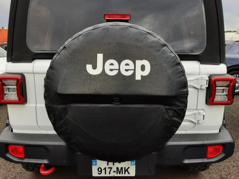 Photo 15 de l'offre de JEEP WRANGLER Unlimited 2.2 l MultiJet 200 ch 4x4 BVA8 Rubicon à 54990€ chez Centrale Auto Marché Mussidan