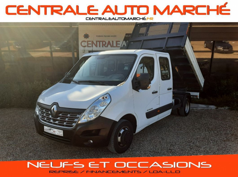 Renault MASTER BENNE PROPULSION 3.5t dCi 135CH ENERGY CONFORT RJ 6 PL Diesel  Occasion à vendre