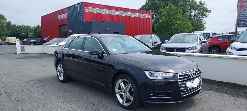 Audi A4 2.0 TDI 150CH S LINE Diesel NOIR Occasion à vendre