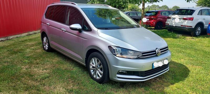 Volkswagen TOURAN 1.6 TDI 115CH FAP CONFORTLINE DSG7 7 PLACES EURO6D-T Diesel GRIS C Occasion à vendre