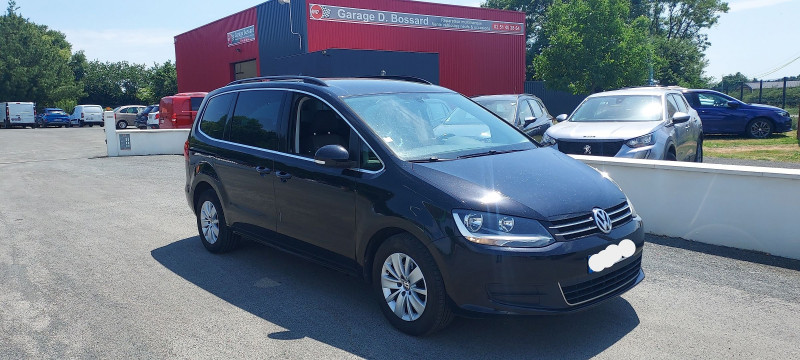 Volkswagen SHARAN 2.0 TDI 140CH BLUEMOTION FAP CONFORTLINE BUSINESS Diesel NOIR Occasion à vendre