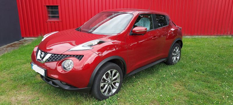 Nissan JUKE 1.2 DIG-T 115CH TEKNA Essence ROUGE Occasion à vendre