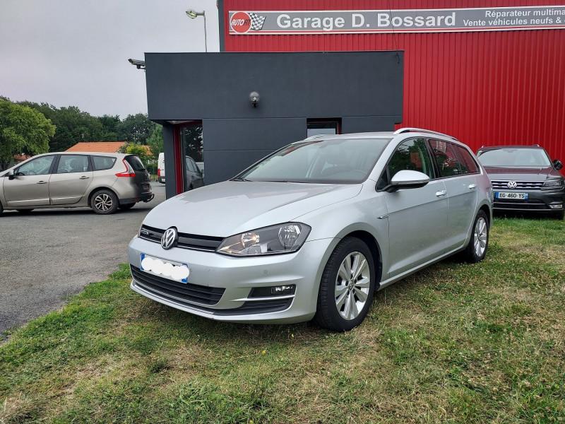 Volkswagen GOLF VII SW 1.6 TDI 110CH BLUEMOTION FAP CONFORTLINE BUSINESS Diesel GRIS C Occasion à vendre