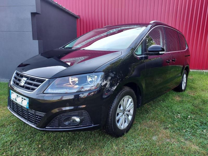 Seat ALHAMBRA 2.0 TDI 150CH FAP STYLE EURO6D-T Diesel NOIR Occasion à vendre