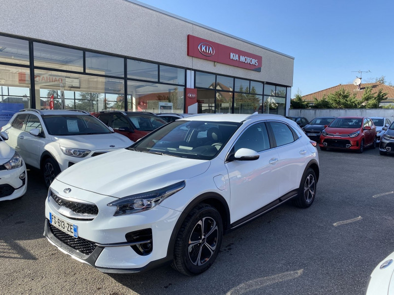 Kia XCEED 1.6 GDI 105CH + PLUG-IN 60.5CH ACTIVE DCT6 Hybride BLANC Occasion à vendre
