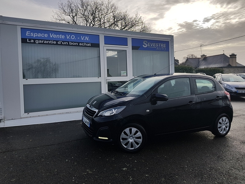 Peugeot 108 1.0 VTI ACTIVE 5P Essence NOIR Occasion à vendre