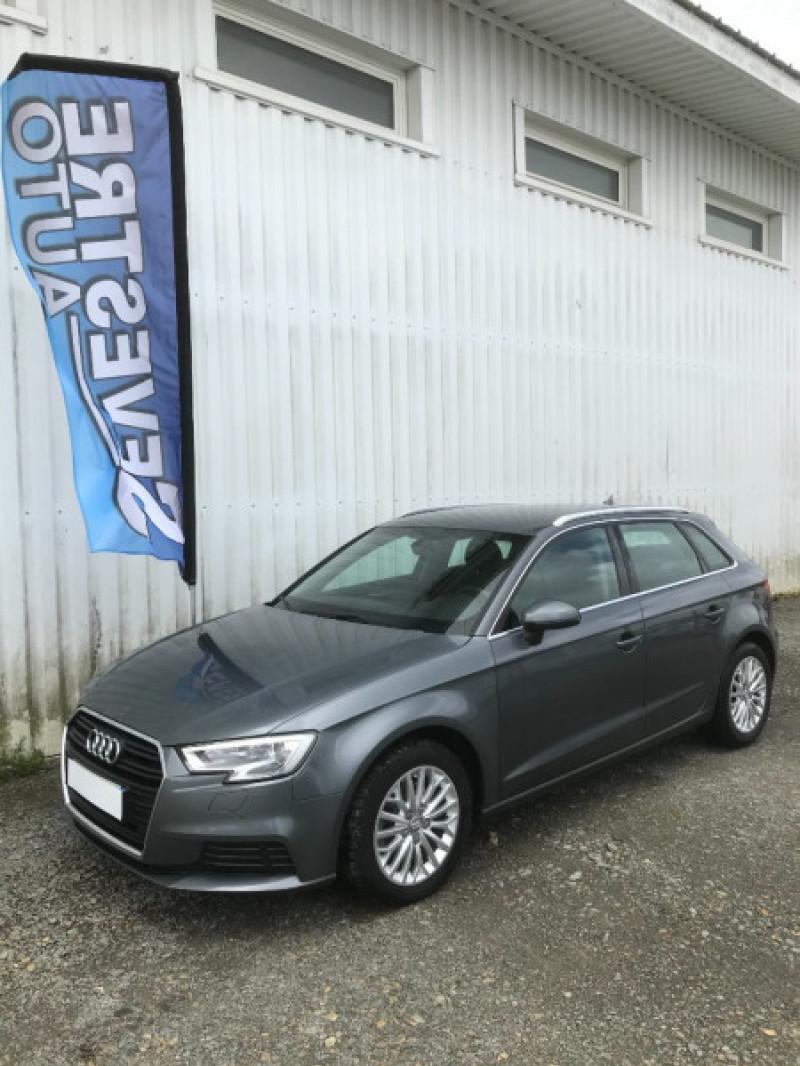 Audi A3 SPORTBACK 1.6 TDI 116CH Diesel GRIS Occasion à vendre