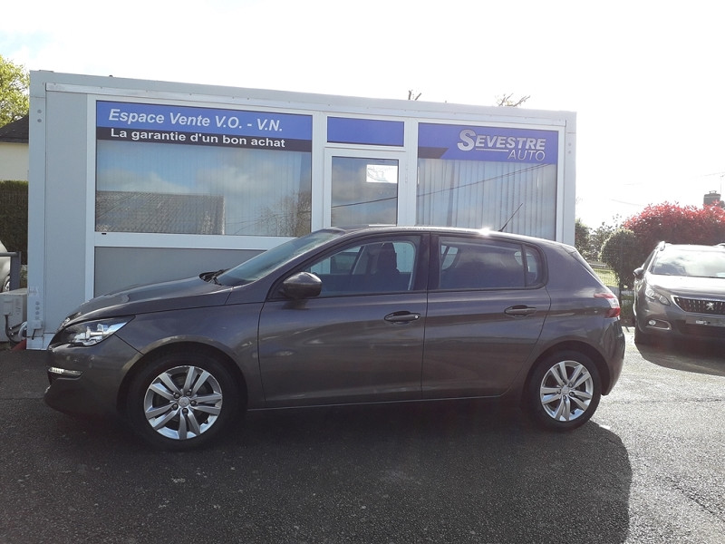 Peugeot 308 1.6 BLUEHDI 120CH ACTIVE S&S 5P Diesel GRIS Occasion à vendre