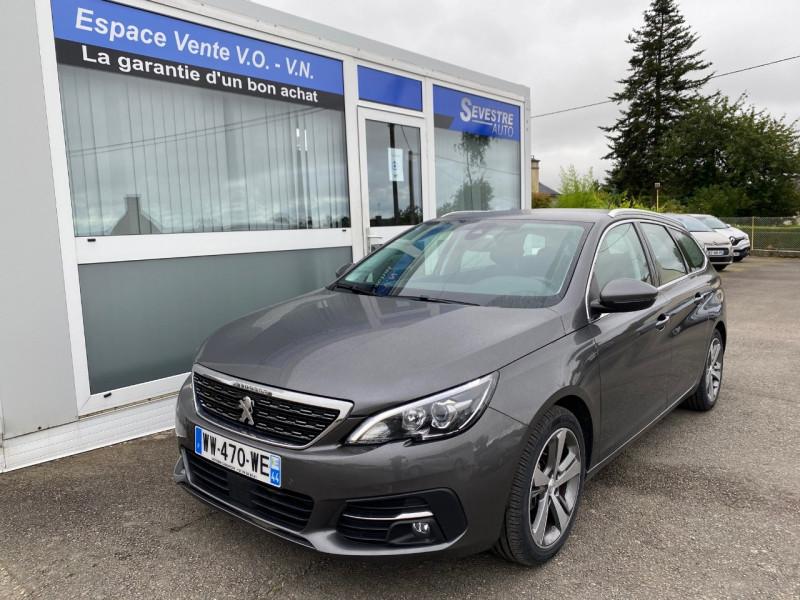 Peugeot 308 SW 1.5 BLUEHDI 130CH S&S ALLURE Diesel GRIS FONCE Occasion à vendre