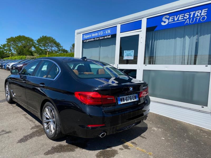 Photo 4 de l'offre de BMW SERIE 5 (G30) 520DA 190CH EXECUTIVE EURO6C à 31990€ chez Sevestre Automobiles Nantes
