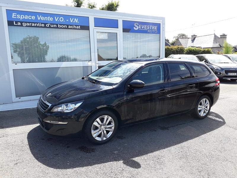 Peugeot 308 SW 1.6 BLUEHDI 120CH ACTIVE S&S Diesel NOIR Occasion à vendre