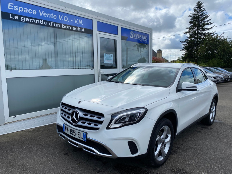Mercedes-Benz CLASSE GLA (X156) 180 D INTUITION Diesel BLANC Occasion à vendre