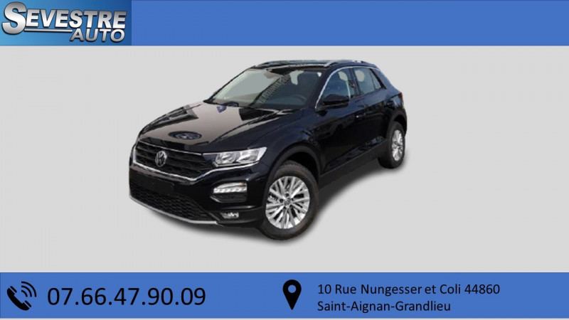 Volkswagen T-ROC 1.0 TSI 115CH LOUNGE Essence NOIR Occasion à vendre