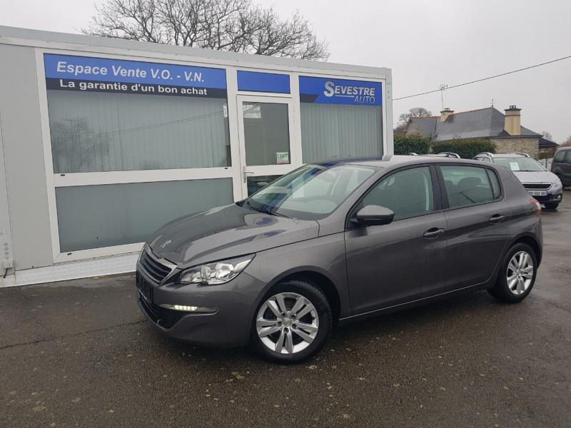 Peugeot 308 1.6 BLUEHDI 120CH ACTIVE BUSINESS S&S 5P Diesel GRIS Occasion à vendre