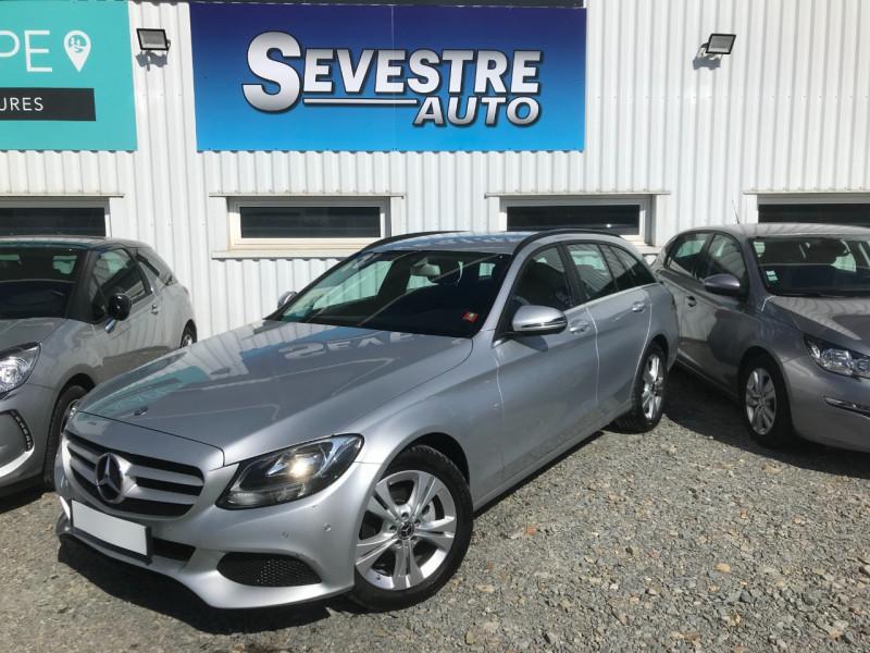 Mercedes-Benz CLASSE C BREAK (S205) 200 BLUETEC BUSINESS 7G-TRONIC PLUS Diesel GRIS CLAIR Occasion à vendre