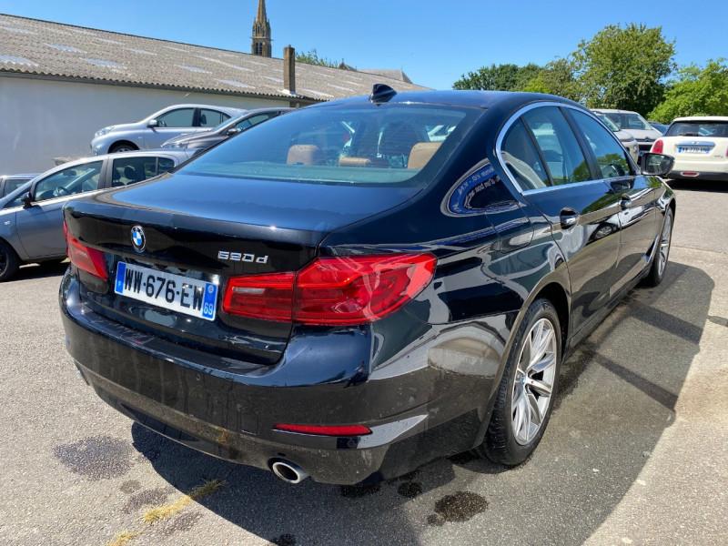 Photo 3 de l'offre de BMW SERIE 5 (G30) 520DA 190CH EXECUTIVE EURO6C à 31990€ chez Sevestre Automobiles Nantes