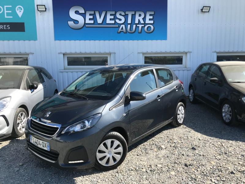 Peugeot 108 1.0 VTI ACTIVE 5P Essence GRIS Occasion à vendre