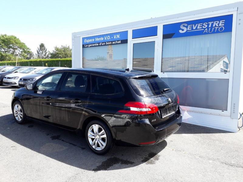 Photo 4 de l'offre de PEUGEOT 308 SW 1.6 BLUEHDI 120CH ACTIVE S&S à 11490€ chez Sevestre Automobiles Nantes