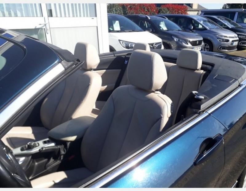 Photo 7 de l'offre de BMW SERIE 2 CABRIOLET (F23) 218DA 150CH LUXURY à 19990€ chez Sevestre Automobiles Nantes
