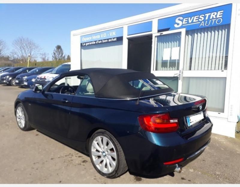 Photo 4 de l'offre de BMW SERIE 2 CABRIOLET (F23) 218DA 150CH LUXURY à 19990€ chez Sevestre Automobiles Nantes