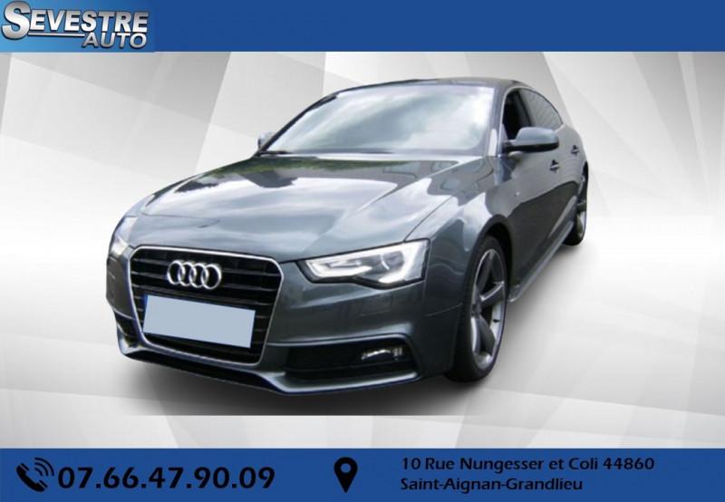 Audi A5 SPORTBACK 2.0 TDI 190CH S LINE QUATTRO S TRONIC 7 Diesel GRIS F Occasion à vendre