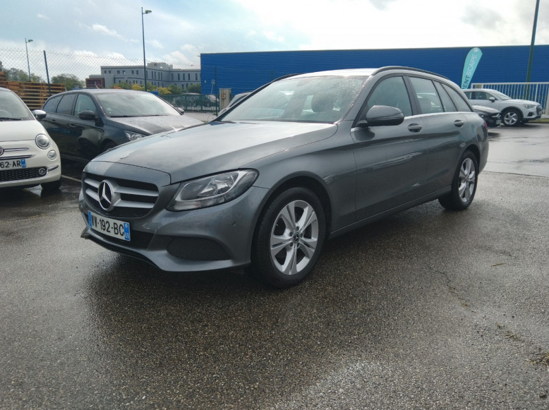 Mercedes-Benz CLASSE C BREAK (S205) 200 D BUSINESS Diesel GRIS Occasion à vendre