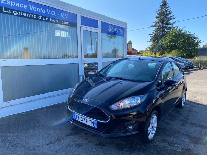Ford FIESTA 1.25 82CH TREND 5P Essence NOIR Occasion à vendre