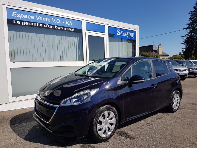 Peugeot 208 1.6 BLUEHDI 100CH ACTIVE 5P Diesel BLEU Occasion à vendre