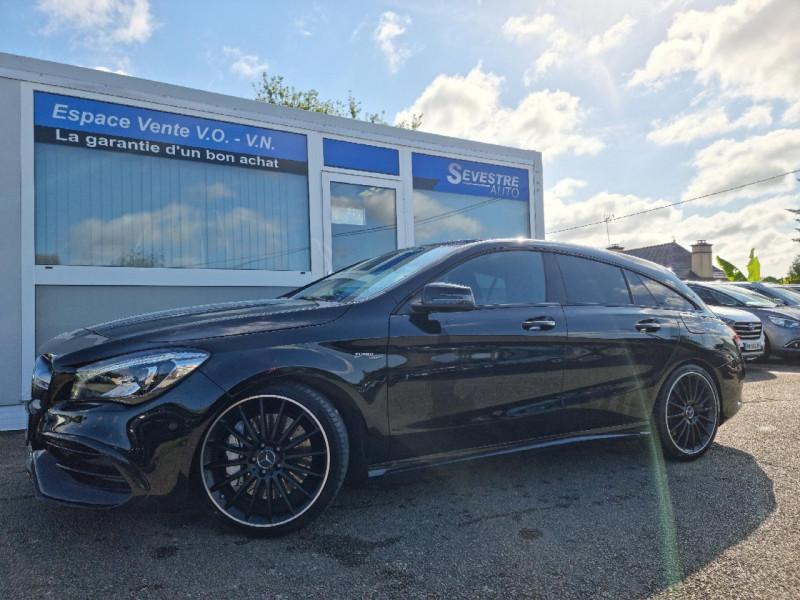 Mercedes-Benz CLA SHOOTING BRAKE 45 AMG 381CH 4MATIC SPEEDSHIFT DCT Essence NOIR Occasion à vendre