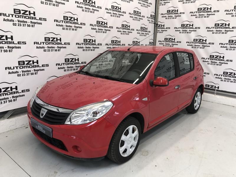 Dacia SANDERO 1.4 MPI 75CH GPL GPL ROUGE  Occasion à vendre